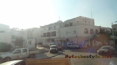 Сумбурное движение в Хаммамете