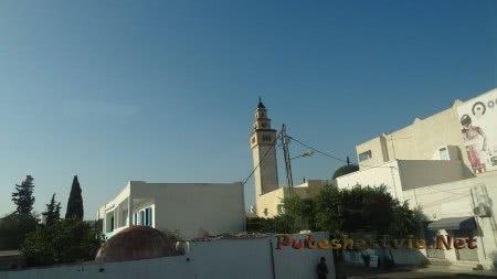 Мечеть в северной части Хаммамета
