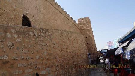 Медина внутри крепости в Хаммамете