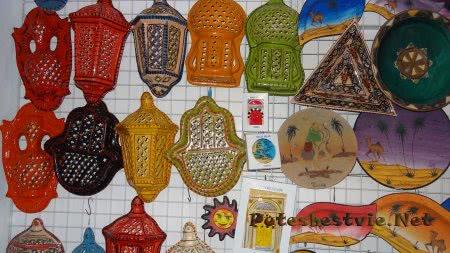 Красивые сувениры из Туниса