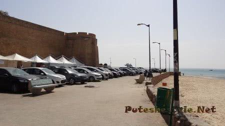 Крепость на берегу в Хаммамете