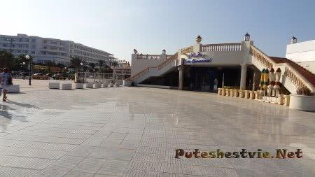 Торговый центр в районе Ясмин-Хаммамет