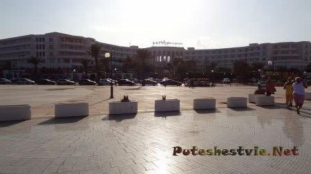 Огромные отели Ясмин-Хаммамет