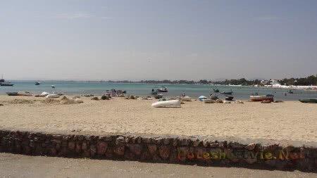 Рыбацкие лодки около Медины Хаммамета