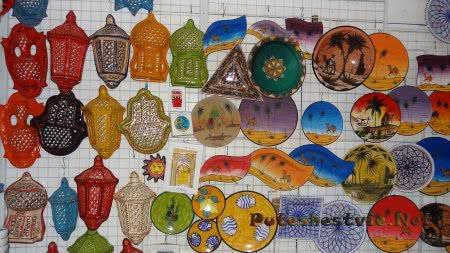 Керамические изделия в Медине