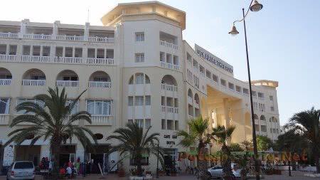 Отель с центром талассотерапии в Хаммамете