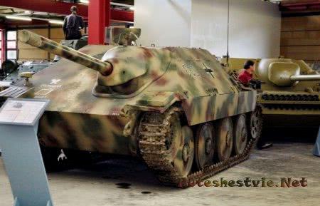 Jagdpanzer в музее в германии