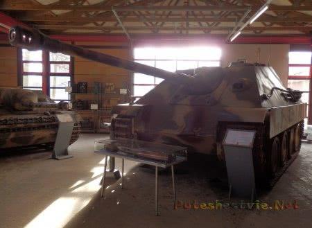 Jagdpanther в музее германии