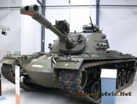 американский танк паттон