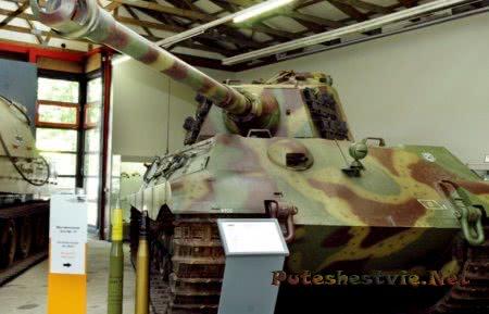 корелвеский тигр танк в музее
