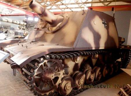 немецкий танк брумбар