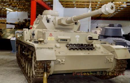немецкий танк Panzerkampfwagen IV