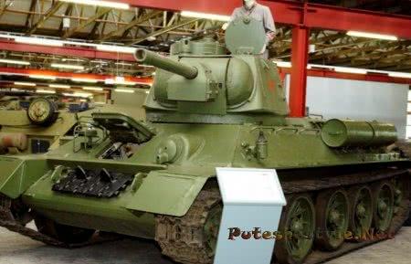 танк т-34-76 в музее в германии