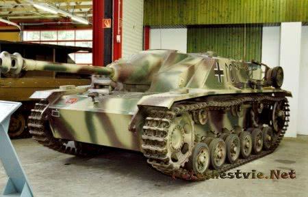 танк штуг в музее в Мунстере