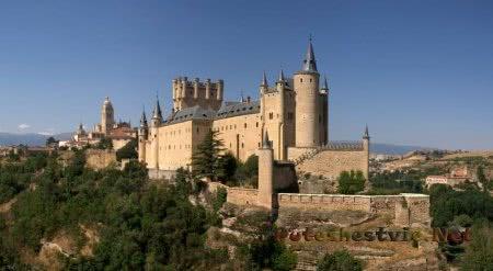 крепость Алькасар в провинции Кастилия
