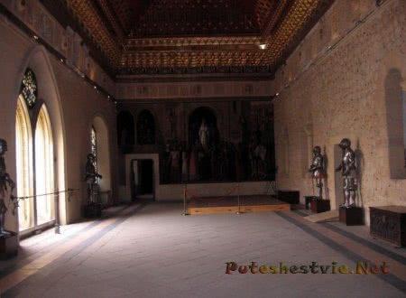 коридоры крепости Алькасар