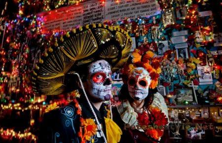 Dia de los Muertos - праздник в Мексике