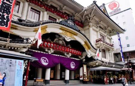 Театр Кабуки Минамидза в Киото