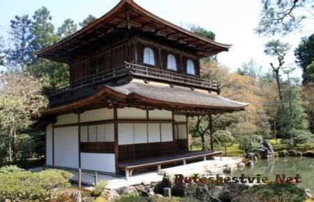 Серебряный Павильон в киото