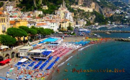 Итальянский курорт Амальфи