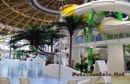 В Новосибирске открыли аквапарк
