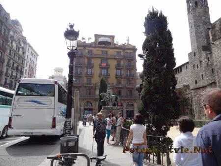 путешествие по Барселоне на автобусе