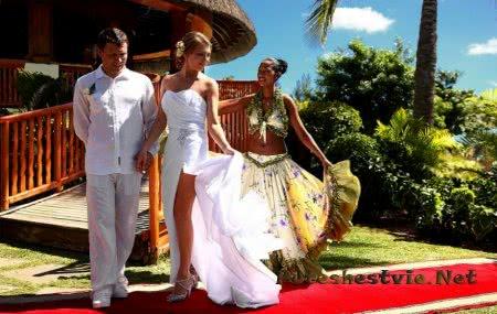 свадьба в маврикии