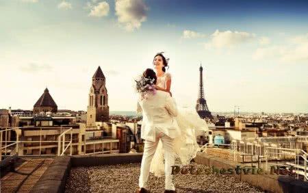 свадьба во франции в париже