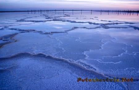 Астраханская область озеро Баскунчак