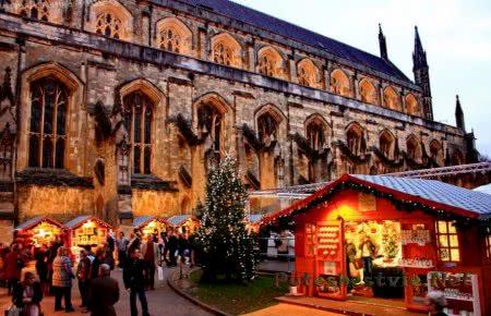 празднование рождества в Англии