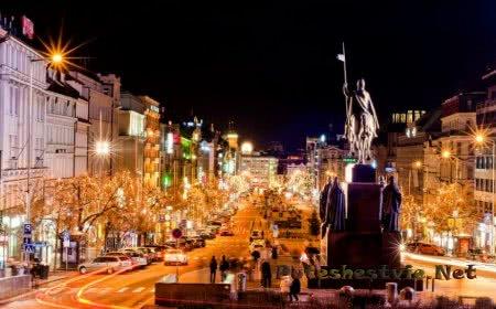 Праздник Рождество и Новый год в Праге