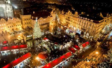 Праздник Рождество в Праге