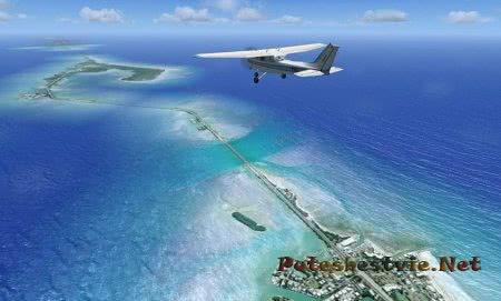Пляжи на островах архипелага Флорида-Кис