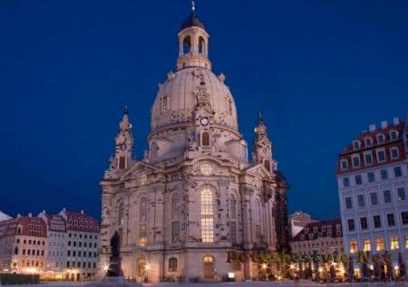 Дрезденский собор Frauenkirche