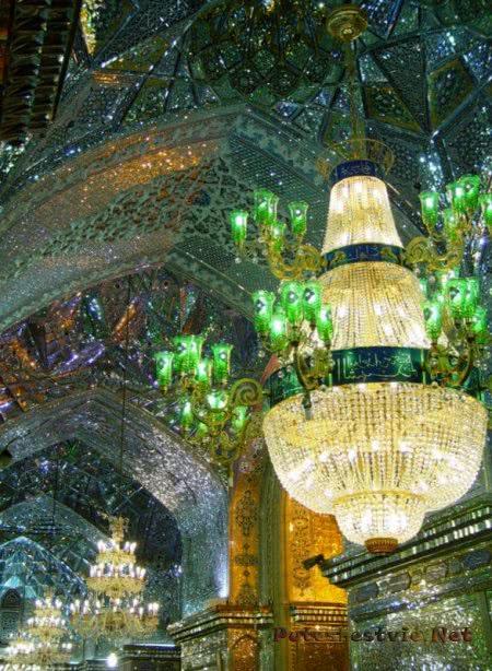 мечеть Шах-Черах в Иране