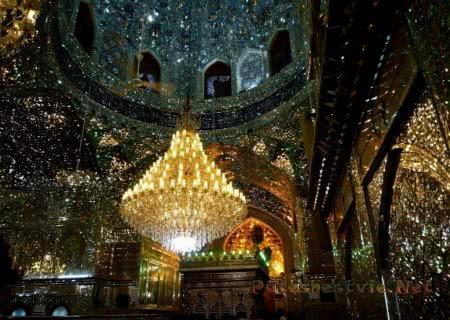 Зеркальная мечеть Шах-Черах