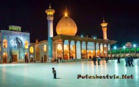 Мавзолей Шах-Черах - Зеркальная мечеть в Иране