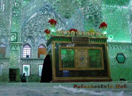Шах-Черах Зеркальная мечеть в городе Шираз