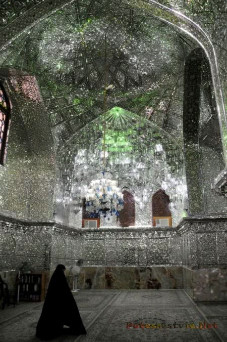 Шах-Черах Мавзолей в Иране