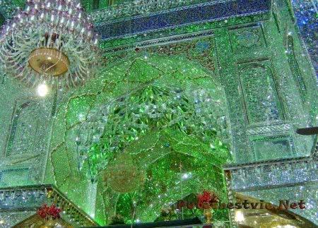 Шах-Черах Зеркальная мечеть в Иране