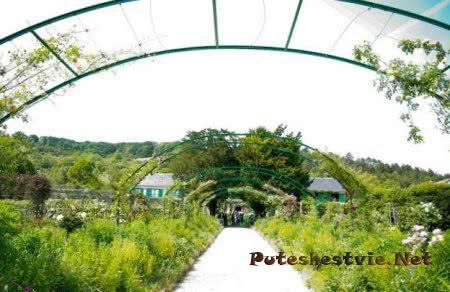 Сад Клода Моне деревня Живерни