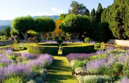 Лучшие французские сады и парки