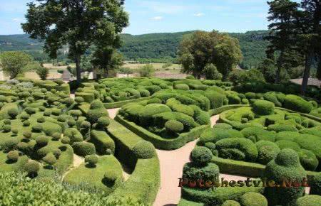 Висячие сады Маркессак город Везак