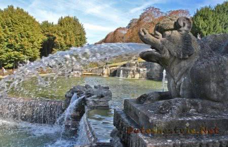 Парк Сен-Клу в Париже