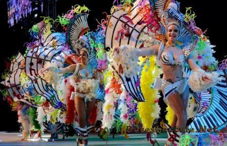 испанский карнавал на тенерифе