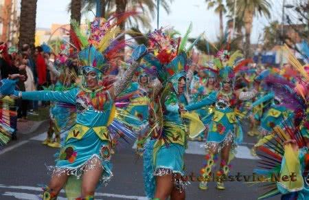 Римский карнавал Мериды