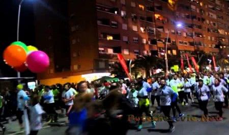 Спортивное мероприятие Международный забег в ночь Святого Антония
