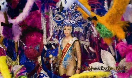 Карнавал в городе Картахена