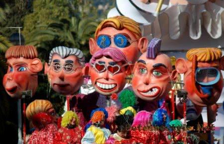 Праздничный карнавал на Мальте
