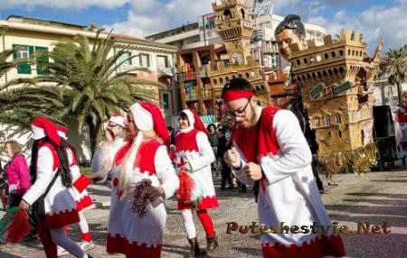 Знаменитые итальянские карнавалы